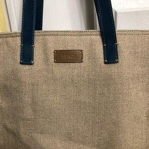 Large Fendi tote Bag